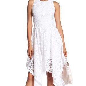 White Lace Nanette Dress